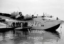 Pan Am Clipper B 314 Airplane Flying Boat Atlantic Clipper 1930s  photo