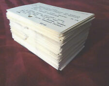 200 Library Card Catalog Index Cards Lot Scrapbooking Crafting Paper Crafts