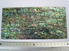 abalone laminate AAA inlay luthier 4x8in stick-on blank