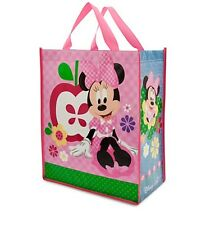 Disney Store Authentic Minnie Mouse Clubhouse Reusable Bag Girls Christmas Tote