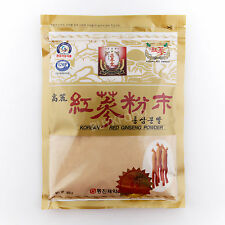 300g(10.6oz),100% Korean Red Ginseng 6 Years Roots Powder, No Additives, Saponin