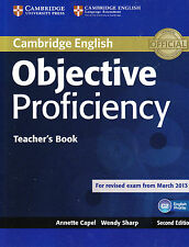 Cambridge OBJECTIVE PROFICIENCY C2 CPE Teacher's Book @NEW@ for Exam from 2013