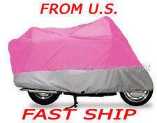 Honda CRF250R CRF 250R 250 R B/S Motorcycle Cover C- L6 pink on silver