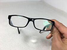 hugo boss orange designer black thick rim prescription glasses frame