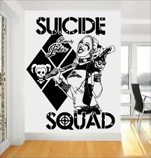 Harley Quinn DC Comics Suicide Squad (Task Force X) Wall Art Sticker/Decal