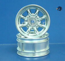Tamiya Rover Mini-Cooper 94 Monte-Carlo Plated Wheel 1:10 RC Car M05 #50676