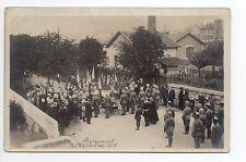 SUISSE SWITZERLAND Canton du JURA BONCOURT carte photo octobre 1917 militaire 2