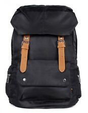 BLACK Nylon Backpack School Bag!Cute & Stylish in Great Quality