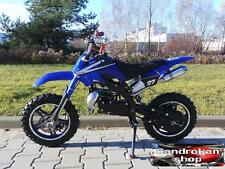 Minimoto Cross SKM Base UD pit bike 2 tempi blue