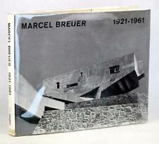 SIGNED MARCEL BREUER BUILDINGS AND PROJECTS 1921-1961 HARDCOVER w/DUSTJACKET