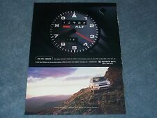 """2001 Toyota SUV 4Runner Ad """"...Can Take You Almost Anywhere"""""""