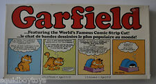GARFIELD the Cat BOARD GAME Parker Brothers 1980s (not complete)