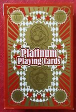 Club Nintendo Platinum Playing Cards 2012 Reward Official Collection BRAND NEW