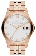Marc Jacobs Women's Rose Gold Bracelet Watch,  Date, 50 Meter WR,  MBM3392