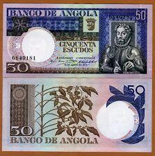 Angola, 50 Escudos, 1973, Pick 105, aUNC