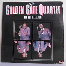 "2 x 33T GOLDEN GATE QUARTET Jazz Disques LP 12"" THE DOUBLE ALBUM Dédicaces RARE"