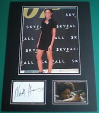 Genuine Naomie Harris Signed Autograph Photo Mounted Skyfall James Bond