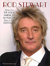 Rod Stewart The Great American Song Book Music Piano 3