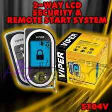 VIPER 5704 2-WAY CAR ALARM REMOTE START KEYLESS SYSTEM LCD PAGER 5704V REPL 5702