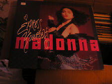 Madonna Excellent lot of 3 45s Dress you up, bedtime story, Express yourself HTF