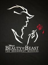 Disney Beauty And The Beast Broadway Musical Cleveland Men's Extra-Large T-Shirt