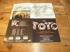 TOTO - Plan média / Press kit !!! THROUGH THE LOOKING GLASS !!!