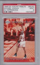 MICHAEL JORDAN 1996 U.D. MJ40 Jordan Tribute POP 4 PSA 9 only one graded higher