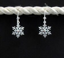 "Sienna Sky  ""Snowflake""  Earrings with Rhinestone"