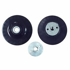 "4.5"" Angle Grinder Backing Pad for Resin Fiber Disc w/5/8""-11 Locking Nut - BP45"