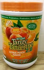 Youngevity Beyond Tangy Tangerine 2.0 Citrus Peach Fusion Canister