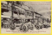 cpa France PARIS 1905 Expo AUTOMOBILE Car Show STAND Voiture DELAUNAY BELLEVILLE