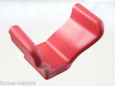 Fiamma portabicicletas final de la PAC en rojo para ciclo rack Rieles final de la PAC de forma de V