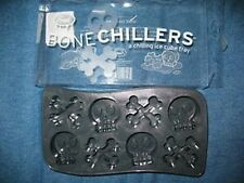 Fred's  Bone Chillers Ice Cube Trays Skulls Crossbones