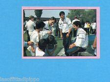 PANINI CALCIATORI 1985/86 -FIGURINA n.315- VERSO IL MUNDIAL - LA GAZZETTA-Rec