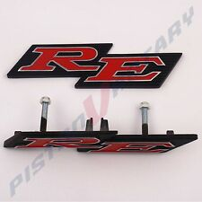 RE Grille & Rear Garnish Badge set for ROTARY MAZDA CAPELLA 13B 10A 12A RX2 boot