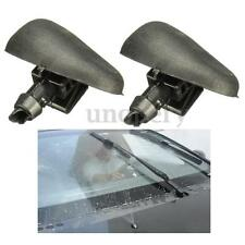2x Windshield Wiper Water Spray Jet Washer Nozzle For Peugeot 206 Citroen C2 New