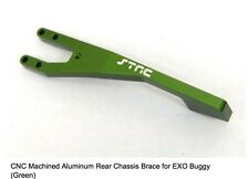 ST Racing Concept Green CNC Aluminum Rear Chassis Brace Axial EXO Terra Buggy