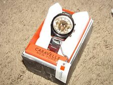 NEW NWT *CARAVELLE* Women's Stainless Steel/Rose Gold Watch  45L143