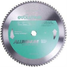 Evolution raptor 355mm x 80T TCT aluminium cutting saw blade cold cut