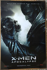 X-MEN APOCALYPSE MOVIE POSTER 2 Sided ORIGINAL Version B 27x40 OSCAR ISAAC