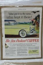 "Vintage Automobile Advertisement 11 X 14"" 1953 Packard Clipper  (A66)"
