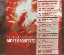 Christian Music's Most Requested Volume 1 Various Artists 2007 CD FFH 4Him etc