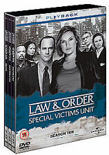 Law And Order: Special Victims Unit - Season 10 - Complete DVD box set.