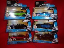 Fast and Furious  1:32 6 cars leddys srt8,ford gt, nissan gtr 3 dodge chargers
