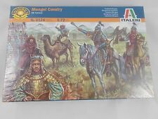 Italeri Mongol Cavalry XIII Century #6124 1:72 Model Sealed