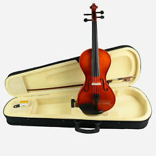 FULL SIZE VIOLIN Student 4/4 Violin Fiddle/Bow/Rosin/Case/ SET NEW Style -2-163#