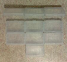 10 Cartridge cases for Game Boy Advance GBA - game, protection plastic box SP