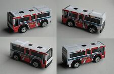 Matchbox - City Bus / MBX C.B.T. 801 weiß/rot