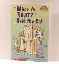 """""""What Is That?"""" Said The Cat by Grace Maccarone - Hello Reader Level 1 Book"""