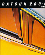 1981 Datsun Nissan 200SX 200-SX Original Car Dealer Sales Brochure Catalog
